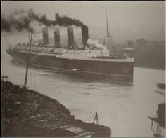 This is an amazing picture of Lusitania