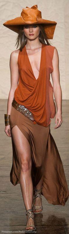 Donna Karan, Spring 2014 Clothing Line | Photo Featured on fashionologie.com