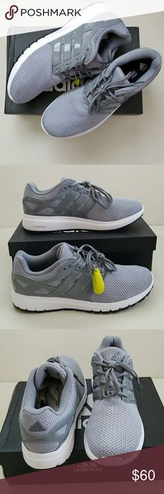 NWT Men's Adidas Running Shoes New men's Adidas running shoes. Cloudfoam foot bed for added comfort. adidas Shoes Athletic Shoes
