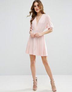 ASOS Kimono Mini Dress $43