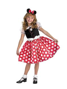 Minnie Mouse Quality Toddler Costume! See more #costume ideas for Halloween and more at CostumeSuperCenter.com