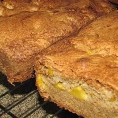 Use canned peaches to make this quick bread recipe for a cinnamon ...