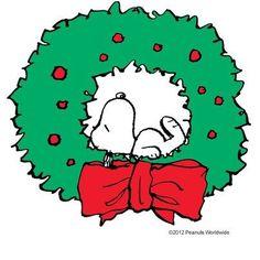 #Snoopy #Christmas wreath