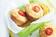 Need a little lunchbox snack that really hits the spot? Try these scones for a delicious snack.