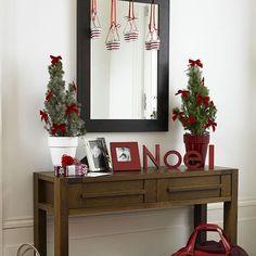 Seasonal garland   Christmas hallway ideas - 10 best   housetohome.co.uk   Mobile