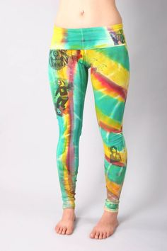 830L MasRasta Yoga Pants by COUTURETEEdotCOM on Etsy