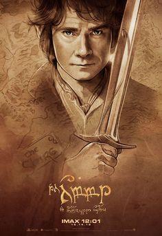 "Martin Freeman as Bilbo Baggins in New Line Cinema's ""The Hobbit: An Unexpected Journey"" - 2012"