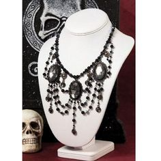 Victorian Gothic Necklace   Free Jewelry Patterns   Prima Bead