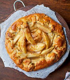 Rustic-pear-tart