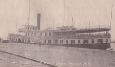 The America at dock in Cape Vincent. Thousand Islands, Historical Images, Cape, Louvre, America, River, History, Mantle, Cabo