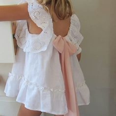 Would be cute for rehearsal dinner, even has a blush pink bow. Little Dresses, Little Girl Dresses, Girls Dresses, Flower Girl Dresses, Flower Girls, Baby Kind, My Baby Girl, Little Girl Fashion, Kids Fashion