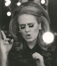 """Is it my imagination, or does Adele have that """"Amy Winehouse-ness"""" about her? Even her voice reminds me of Amy a bit..."""