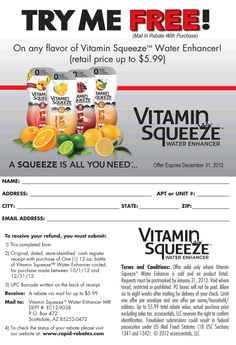 Free snail mail grocery coupons