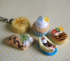 Sweet Mini Food Charms by ~Fimochu