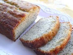 Orange Glazed Poppyseed Bread