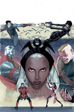 Storm & X-Men by Jorge Molina