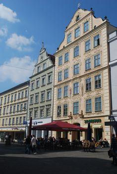 Ingolstadt, rue piétonne, Bavière https://www.facebook.com/destinationbaviere
