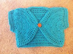crochet sweater girls shrug sizes newborn baby, 2t, 3t, 4t, 5t, S, M and L
