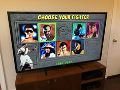 A childhood dream come true: Mortal Kombat on a giant tv