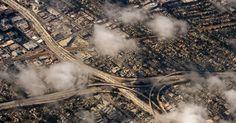 Vista aérea de Los Angeles, Califórnia (EUA), em 13/06/2013. Por Joe Klamar