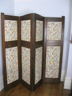 arts and crafts oak fold bedroom screen byliberty u co c