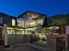 A D Lab designed the #contemporary renovation for this house in Singapore.