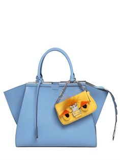 MICRO MONSTER BAGUETTE NAPPA LEATHER BAG