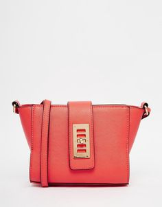 ASOS+Wing+Lock+Detail+Cross+Body+Bag