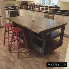 New rustic kitchen islands for sale at temasistemi.net | Islands in ...