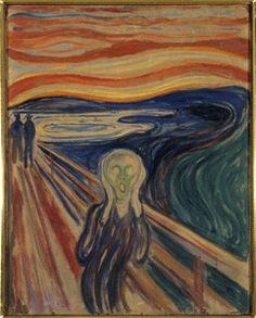 """Ekspresjonisme - Edvard Munch """"skrik"""""""