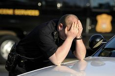 PTSD: the enemy of cops How To Stop Depression, Dealing With Depression, Police Life, Police Cars, Stop Caring, Military Personnel, How To Stay Motivated, Ptsd, Law Enforcement