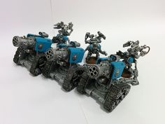 Iron Guard Techmarines and Thunderfire Cannons Update  #Warhammer #40k #spacemarines #wargaming #miniatures