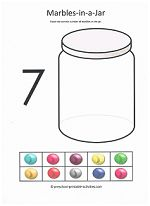 cut and paste activity-counting to 7 from www.preschool-printable-activities.com