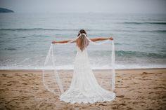 Vestido de noiva estilo boho chic-Casamento na Praia