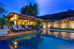 Outdoor Pool, Deck, Stone Wall, Charming Rustic House in Amarante, Portugal