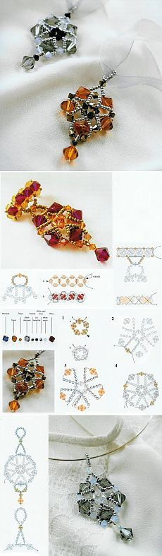 Suspension of beads, jewelry beads scheme | Laboratory household
