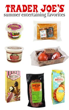 DC Girl in Pearls - My favorite picks from Trader Joe's for summer