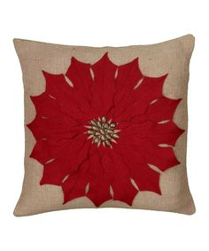 Do ---  Take a look at this Red Holly Pillow on zulily today!