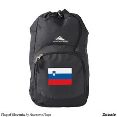 Flag of Slovenia Backpack
