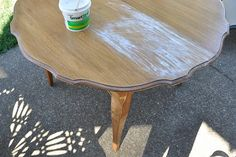 Refinishing a table with liming wax. Stripping Furniture, Stripping Paint, Furniture Fix, Furniture Making, Furniture Makeover, Removing Paint, Repurposed Furniture, Furniture Projects, Liming Wax