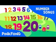 Counting songs to help preschool age children learn numbers and counting. Video visuals and music. Counting Songs For Kids, Counting To 20, Kids Songs, Math Songs, Kindergarten Songs, Rhymes Video, Rhymes Songs, Number Song, English Stories For Kids
