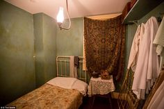 """Immigrant lives frozen in time: Never-before-seen photos from inside Manhattan's Tenement Museum shed light on Lower East Side's notorious turn-of-the-century slum 