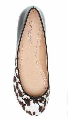 Leopard Print Ballet Flat, LOVE!!