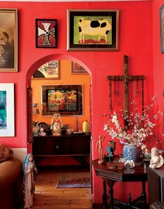 Red Room Inspiration, Image Source  plasconspaces.co.za