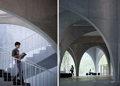 Tama Art University Library, Tokyo, Japan