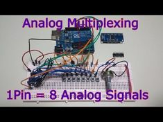 Ep.54 Analog Input Multiplexing with the 74HC4051 - 8 Sensors on 1 Pin - YouTube