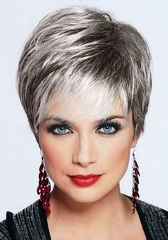 best hairstyles for women over 50 with grey hair