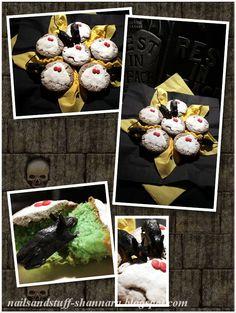 DIY: Halloween cupcakes.