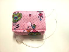 Pump Case sooo sweet...Zuckersüße Pumpentasche (Insulin Pump Case) für kleine Mädchen. Passgenau genäht für die kleinste Pumpe die ich kenne.