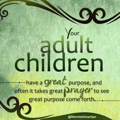 Prayer for adult child who is dating